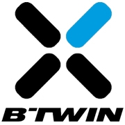 Logo Tige de selle télescopique B'Twin